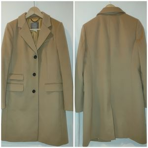 J. Crew Nello Gori Italian Wool Coat Peacoat Lady